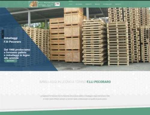 Imballaggi Fratelli Pecoraro by Tux Web Design Creazione Siti Internet Torino